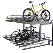 Support à vélo étagé Boost-Storage